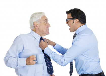 how to deal with backstabbing boss at work