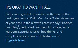 Delta Economy Comfort Plus