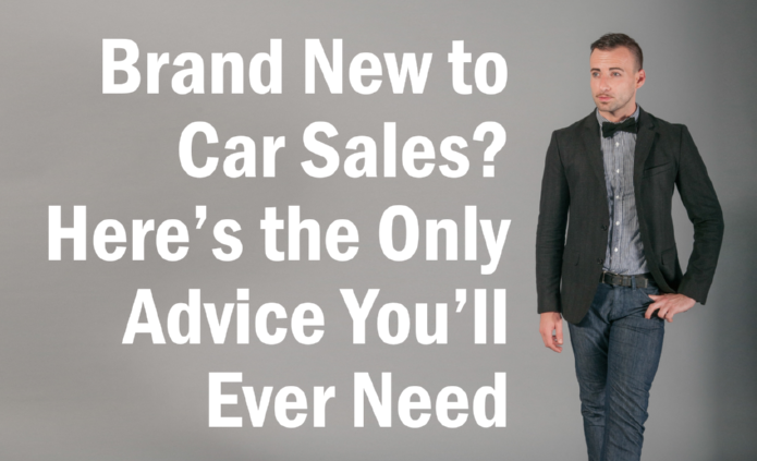 advice for new salespeople