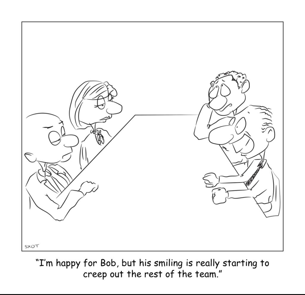 Don't Worry, Be Happy… No, Really, BE HAPPY!