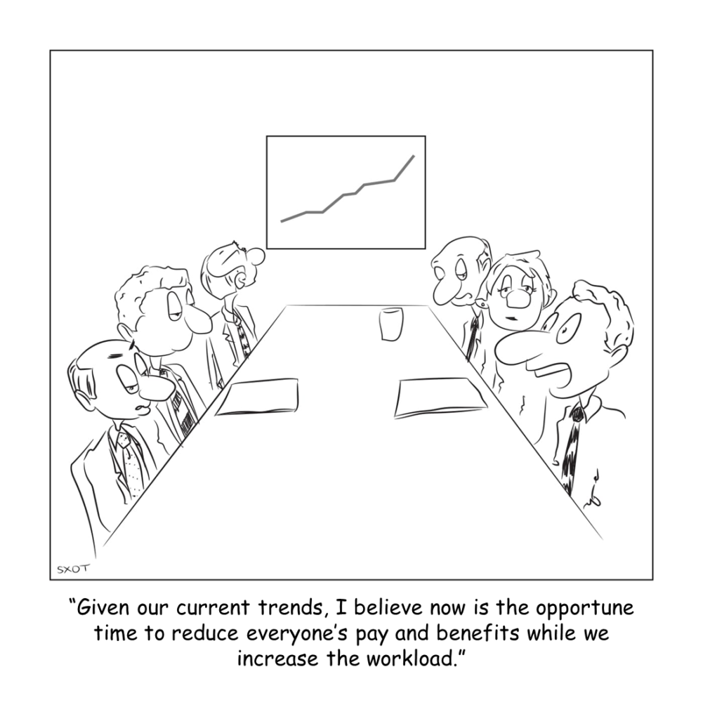 Sales Cures All Ills cartoon