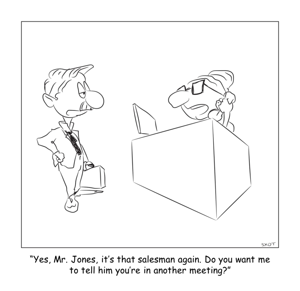 cartoon The Art of Managing Up