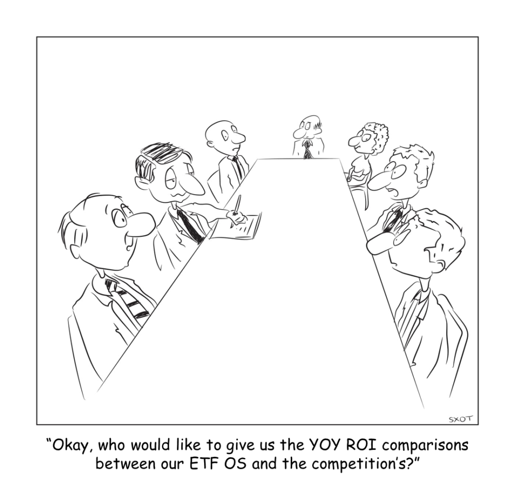 corporate acronym cartoon