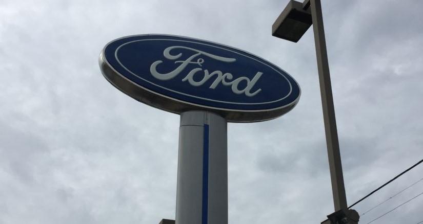 ford dealer sign