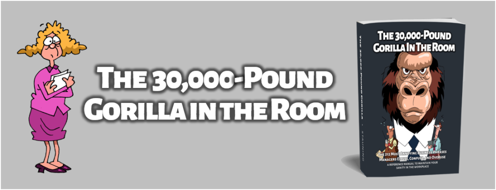 30,000-Pound Gorilla in the Room