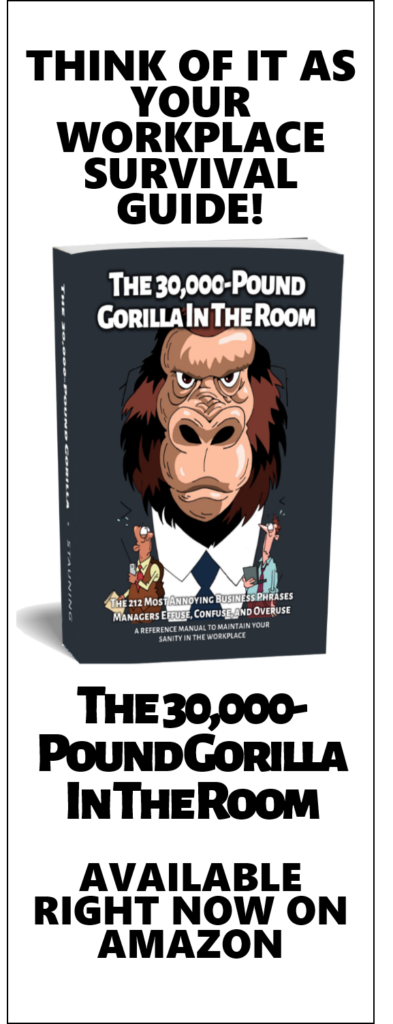 The 30,000 Pound Gorilla in the Room
