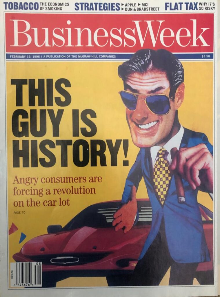businessweek magazine 1996