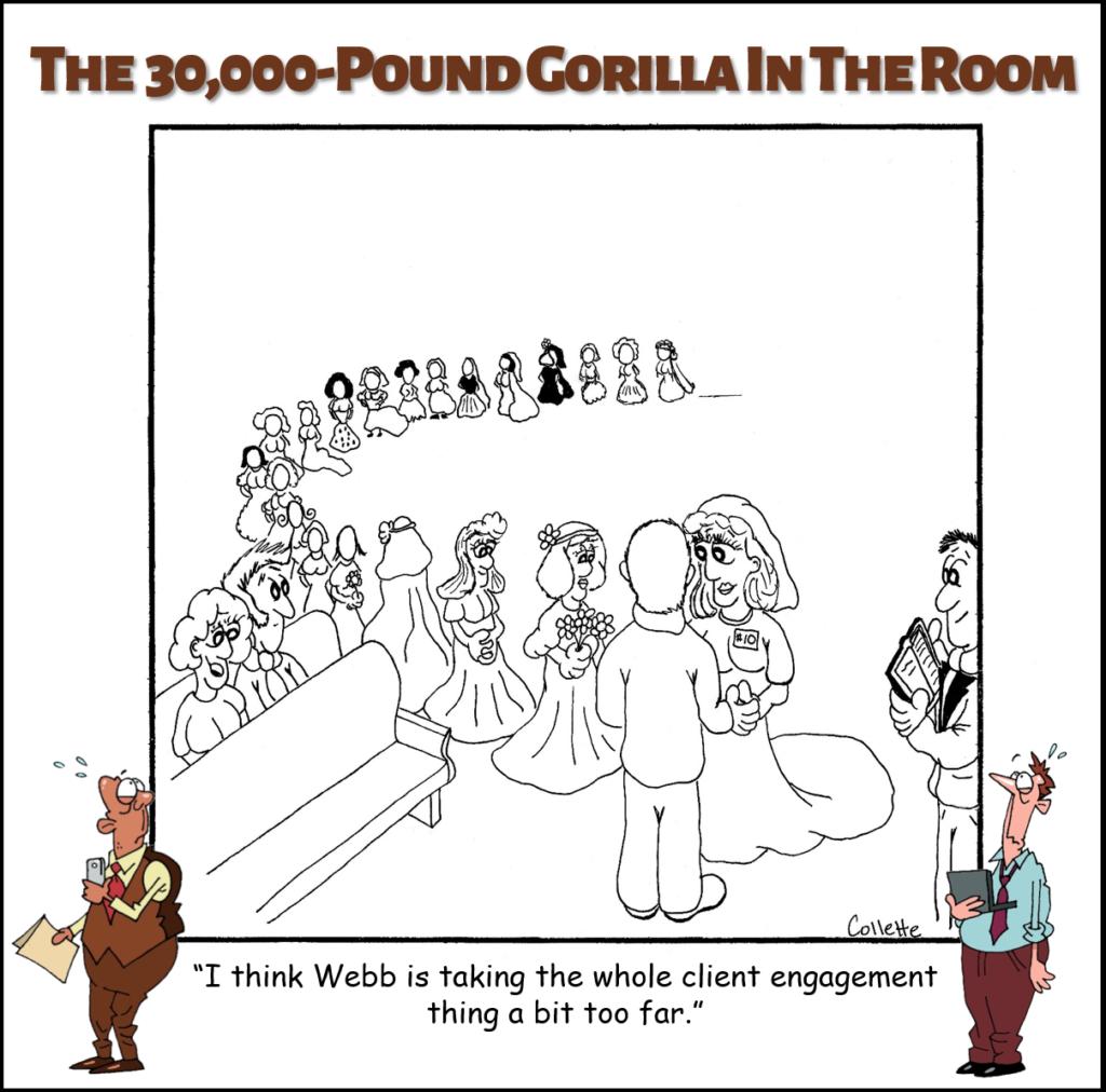 client engagement annoying biz term