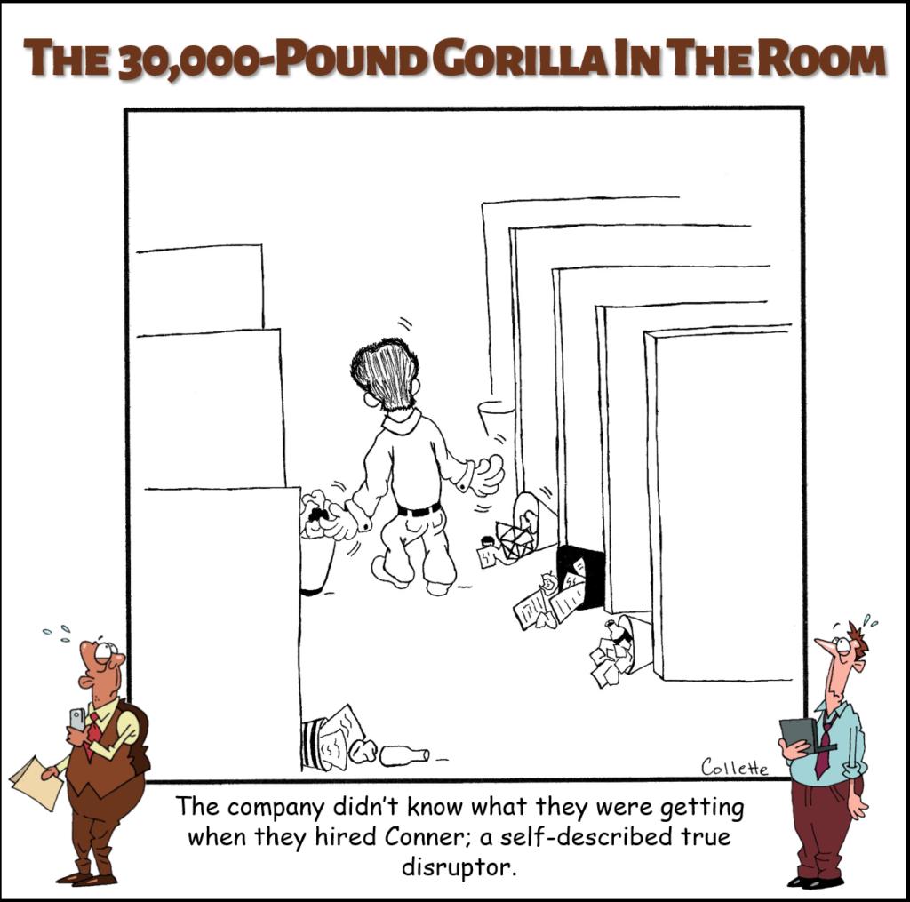 disruptor cartoon annoying