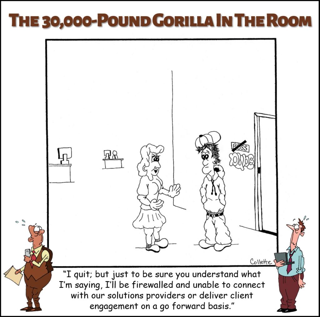 go forward basis annoying business phrase cartoon