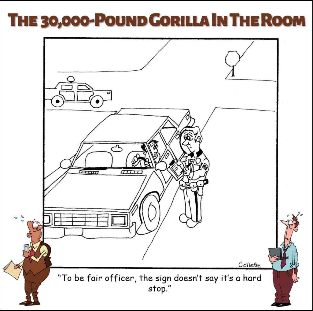 hard stop annoying business term cartoon