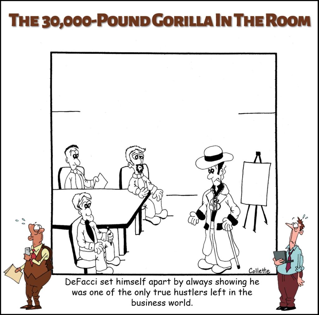 hustle annoying business term cartoon