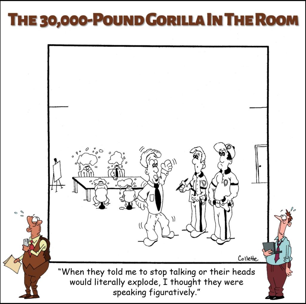literally annoying business term cartoon