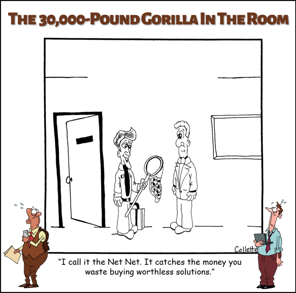 net-net annoying business term cartoon