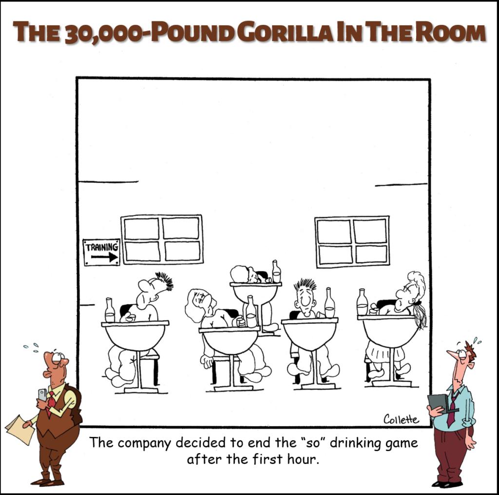 so is an annoying business term cartoon