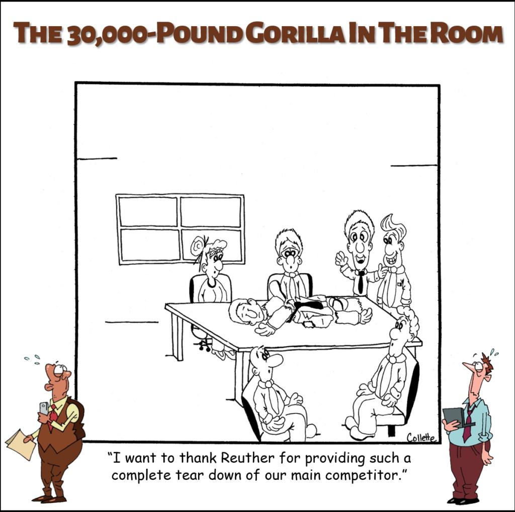 the tear down annoying business phrase cartoon