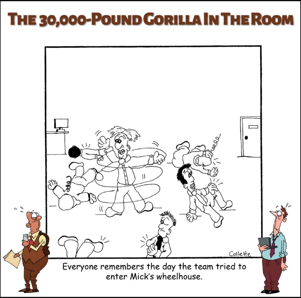 wheelhouse an annoying business term cartoon